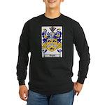 Regan Family Crest Long Sleeve Dark T-Shirt