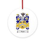 Regan Family Crest Ornament (Round)