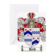 Reid Family Crest Greeting Card