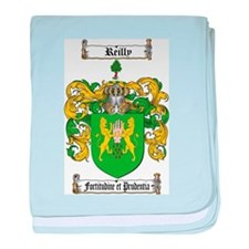 Reilly Coat of Arms baby blanket