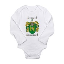 Reilly Coat of Arms Long Sleeve Infant Bodysuit