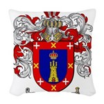 Reyes Coat of Arms Woven Throw Pillow