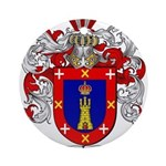Reyes Coat of Arms Ornament (Round)