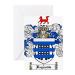 Reynolds Coat of Arms Greeting Cards (Pk of 20)