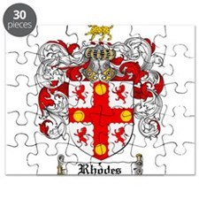 Rhodes Coat of Arms Puzzle