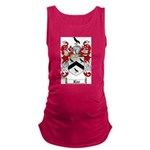 Rice Coat of Arms Maternity Tank Top