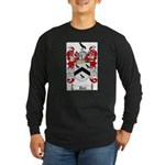 Rice Coat of Arms Long Sleeve Dark T-Shirt