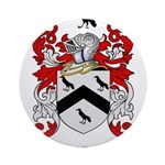 Rice Coat of Arms Ornament (Round)