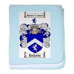 Richards Coat of Arms baby blanket