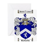 Richards Coat of Arms Greeting Card