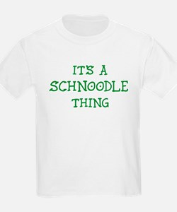 Schnoodle thing Kids T-Shirt