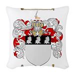 Richardson Coat of Arms Woven Throw Pillow