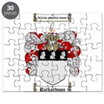 Richardson Coat of Arms Puzzle