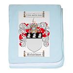 Richardson Coat of Arms baby blanket