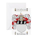 Richardson Coat of Arms Greeting Card