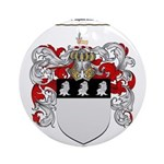 Richardson Coat of Arms Ornament (Round)