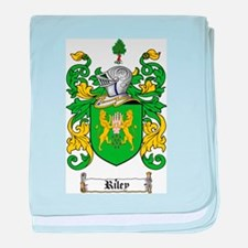 Riley Coat of Arms baby blanket