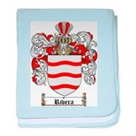 Rivera Coat of Arms baby blanket