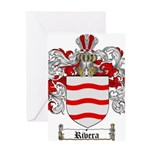 Rivera Coat of Arms Greeting Card