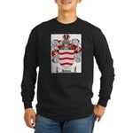Rivera Coat of Arms Long Sleeve Dark T-Shirt