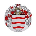 Rivera Coat of Arms Ornament (Round)