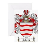 Rivera Coat of Arms Greeting Cards (Pk of 10)