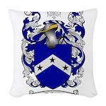 Roberts Coat of Arms Woven Throw Pillow
