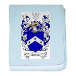 Roberts Coat of Arms baby blanket