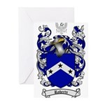 Roberts Coat of Arms Greeting Cards (Pk of 20)