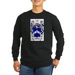 Roberts Coat of Arms Long Sleeve Dark T-Shirt