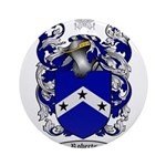 Roberts Coat of Arms Ornament (Round)