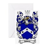 Roberts Coat of Arms Greeting Cards (Pk of 10)