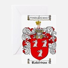 Robertson Coat of Arms Greeting Card