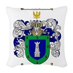 Rodriguez Coat of Arms Woven Throw Pillow