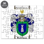 Rodriguez Coat of Arms Puzzle