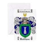 Rodriguez Coat of Arms Greeting Cards (Pk of 20)