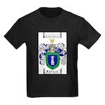 Rodriguez Coat of Arms Kids Dark T-Shirt