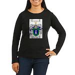 Rodriguez Coat of Arms Women's Long Sleeve Dark T-