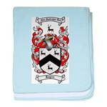Rogers Coat of Arms baby blanket