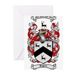 Rogers Coat of Arms Greeting Cards (Pk of 20)