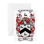 Rogers Coat of Arms Greeting Card
