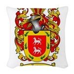 Romero Coat of Arms Woven Throw Pillow