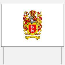 Romero Coat of Arms Yard Sign