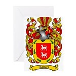 Romero Coat of Arms Greeting Card