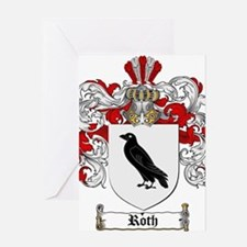 Roth Coat of Arms Greeting Card