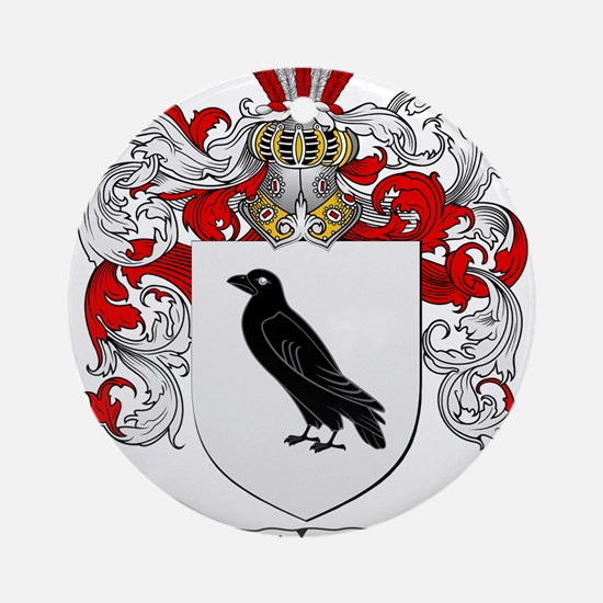 Roth Coat of Arms Ornament (Round)
