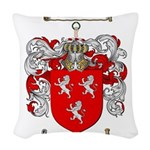 Ross Coat of Arms Woven Throw Pillow