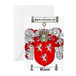 Ross Coat of Arms Greeting Cards (Pk of 20)