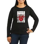 Ross Coat of Arms Women's Long Sleeve Dark T-Shirt