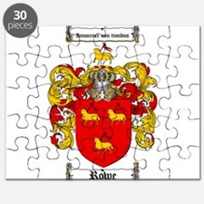 Rowe Coat of Arms Puzzle